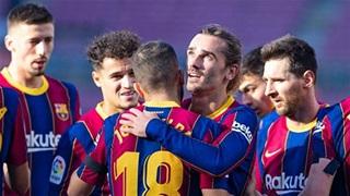 Tổng hợp vòng 11 La Liga: Barca hồi sinh, Real thua bạc nhược
