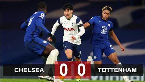 Kết quả Chelsea 0-0 Tottenham: Spurs đòi lại ngôi đầu từ tay Liverpool