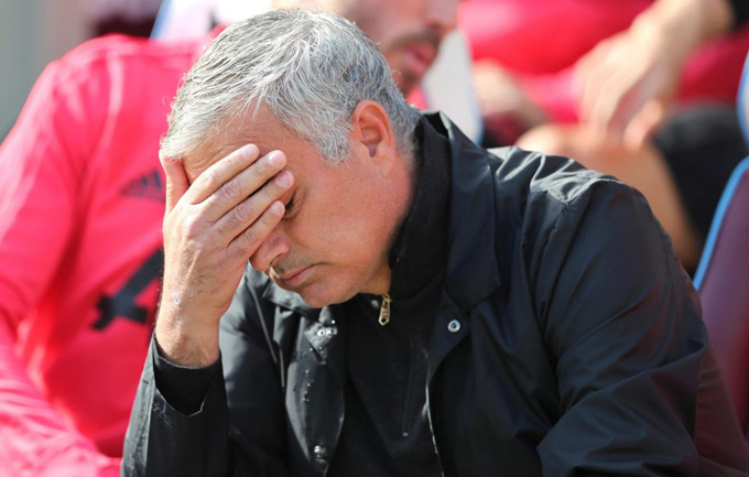 Mourinho bị coi là người lỗi thời, lạc hậu khi dẫn dắt Man United