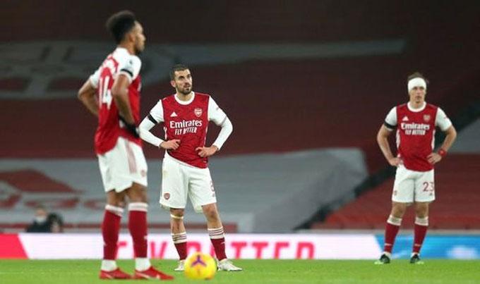 Arsenal tiếp tục chơi tệ trước Wolves