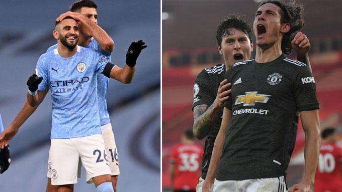 Man City và Man United đã có những trận thắng ấn tượng