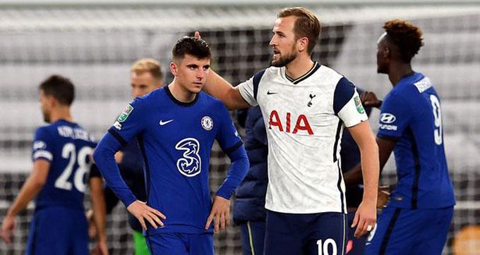 Chelsea và Tottenham cầm chân nhau trong 1 trận cầu kém hấp dẫn
