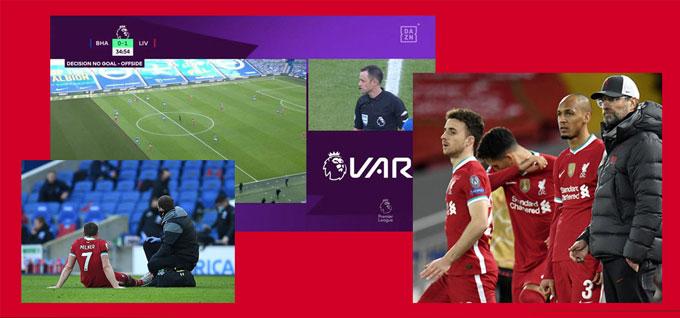 Liverpool vẫn đang vô duyên với VAR