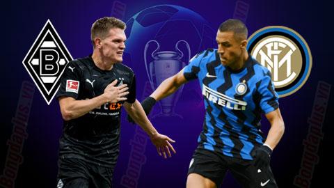 03h00 ngày 2/12: Borussia M'gladbach vs Inter Milan