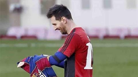 Barca sẽ bị phạt vì hành động ăn mừng của Messi dành cho Maradona