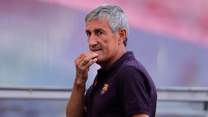 Setien đang đòi Barca bồi thường đúng theo hợp đồng