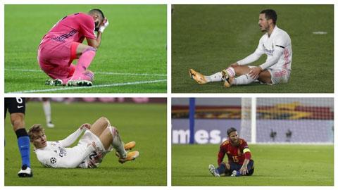 Real Madrid trong bi kịch bão chấn thương và chuyển giao thế hệ
