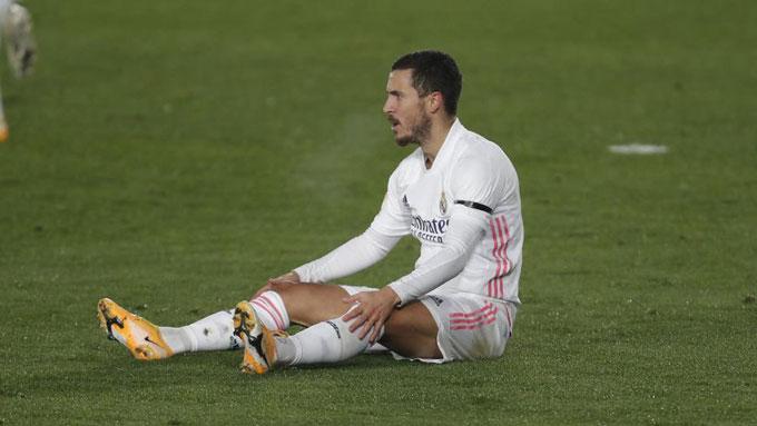 Đóng góp của Hazard bị ảnh hưởng nghiêm trọng bởi chấn thương