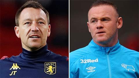 Rooney bị đe dọa mất ghế HLV ở Derby vào tay Terry