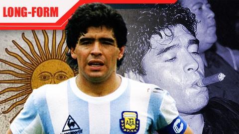 Maradona đã hủy hoại bản thân và sự nghiệp bằng ma túy