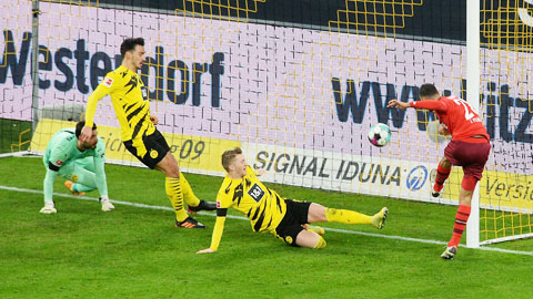 Điểm yếu 'bóng chết' của Dortmund