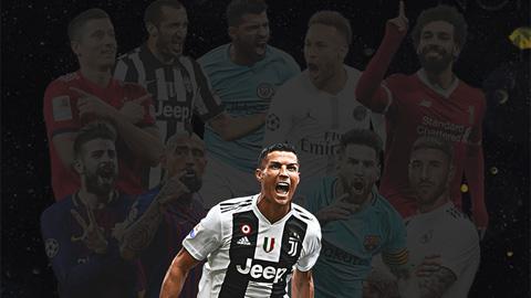 Vượt Messi và Neymar, Ronaldo nhận giải 'Bàn chân Vàng' 2020