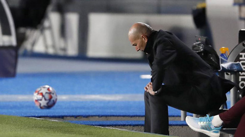 Tương lai của Zidane đang lơ lửng trên không