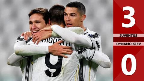 Juventus 3-0 Dynamo Kiev: Ronaldo ghi bàn thắng thứ 750 trong sự nghiệp