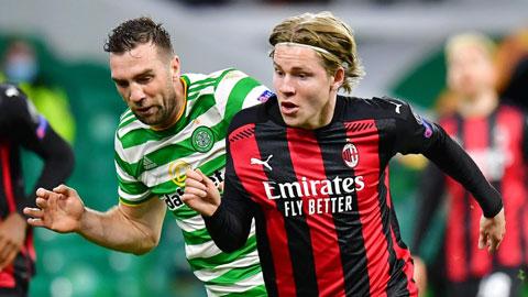 Milan (phải) sẽ thắng trước một Celtic đã hết động lực