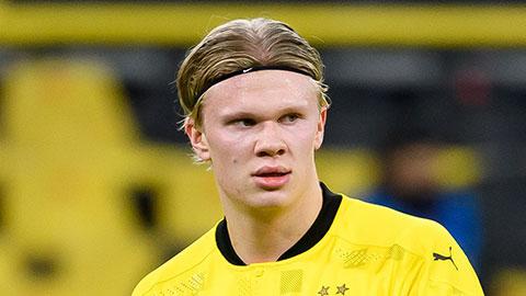 Dortmund mất sát thủ Haaland đến đầu năm 2021