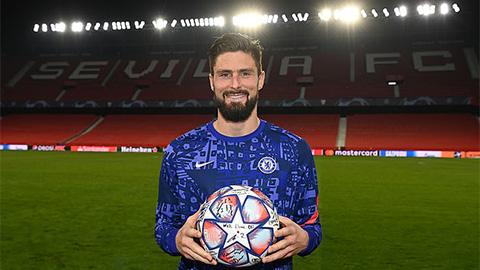 Olivier Giroud: Lão thần tài của Chelsea