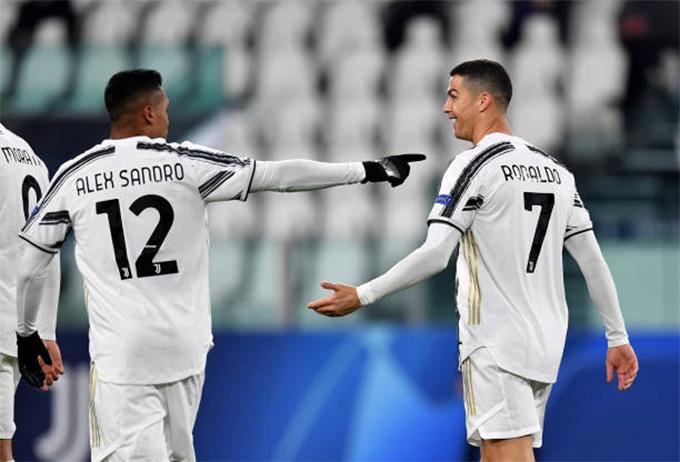 Juventus thắng nhàn hạ Kiev
