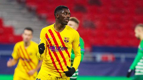 Barca: Sự khao khát của Dembele