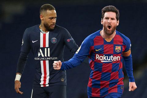 Neymar rất muốn tái hợp người đồng đội cũ Messi tại PSG