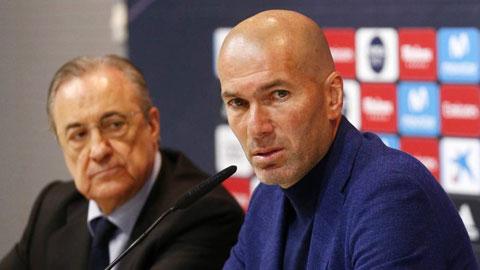 Real sa sút: Lỗi của Zidane một, lỗi của Perez mười