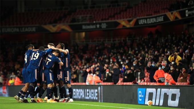 Sân Emirates của Arsenal đã mở cửa đón khán giả trở lại