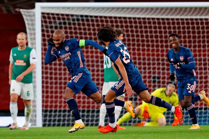 Arsenal có màn chạy đà tốt cho trận derby London vào cuối tuần này