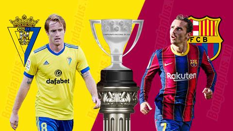 Nhận định bóng đá Cadiz vs Barcelona, 03h00 ngày 6/12