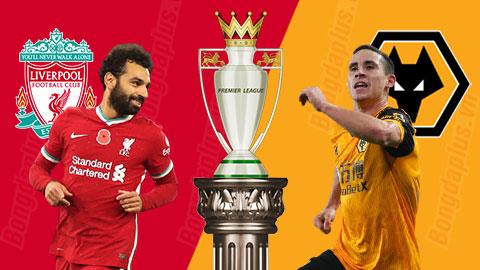 Nhận định bóng đá Liverpool vs Wolves, 02h15 ngày 7/12