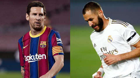 Barcelona - Real Madrid: Đôi bạn cùng... lùi