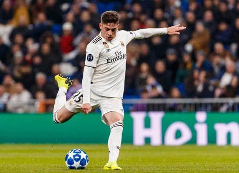 Valverde đang là tiền vệ quan trọng bậc nhất của Real