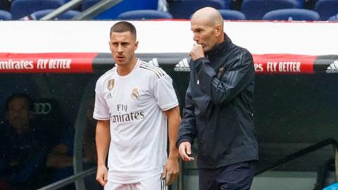 Zidane đang dành sự ưu ái cho Benzema và Hazard