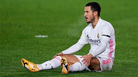 Mỗi phút ra sân, Hazard lại ngốn của Real khoản tiền không tưởng