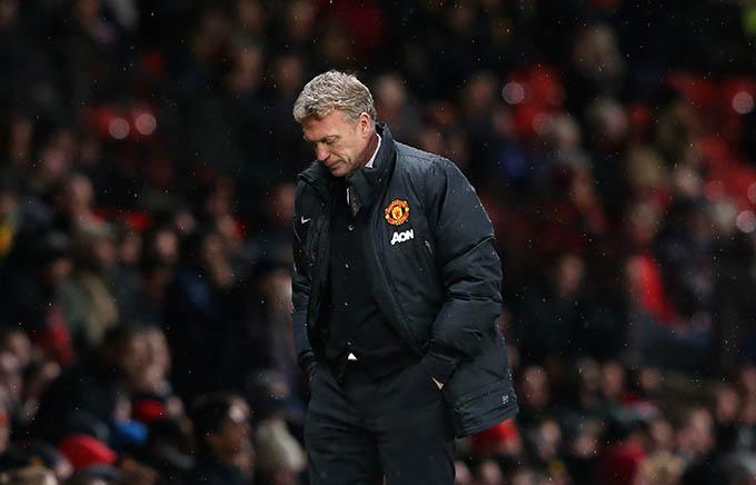 Moyes đã có những ký ức không đẹp khi còn ở Man United