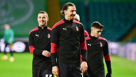 Zlatan Ibrahimovic tiếp tục gắn bó  với Milan vì... tình yêu