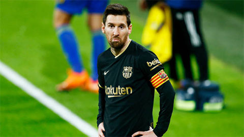 Messi thiên tài cũng không thể cứu nổi Barca suy tàn