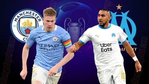 Nhận định bóng đá Man City vs Marseille, 03h00 ngày 10/12: Thắng và cầu nguyện