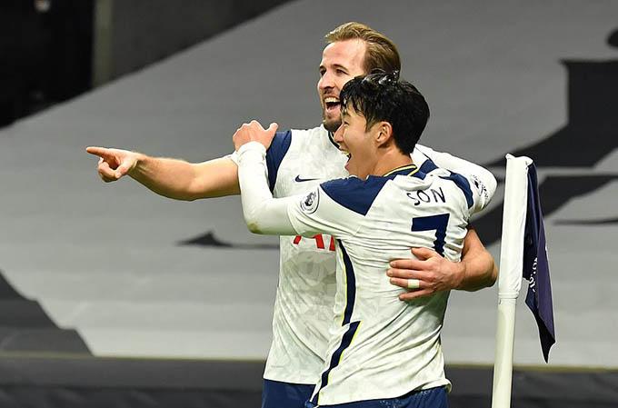Tottenham đang chơi rất hay ở Ngoại hạng Anh nhờ sự thăng hoa của cặp Son và Kane