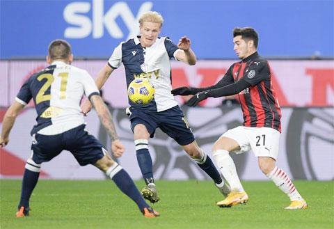 Milan xuất sắc giành chiến thắng trên sân của Sampdoria dù lực lượng bị sứt mẻ nghiêm trọng