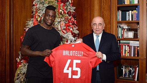 Mario Balotelli gia nhập Monza
