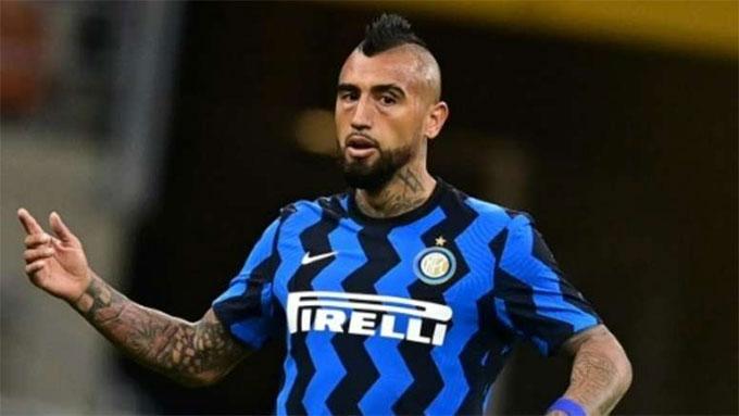 Arturo Vidal sẽ bỏ lỡ trận đấu tới của Inter