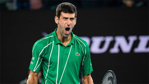 Djokovic tận dụng lợi thế tốt nhất năm 2020