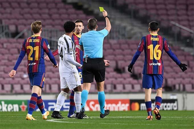 Lenglet đã chơi rất tệ ở trận Barca thua Juventus 0-3