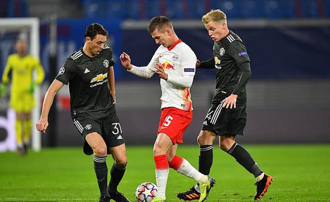 Những điểm nhấn RB Leipzig 3-2 M.U: Hàng thủ 'trong mơ' của Quỷ đỏ