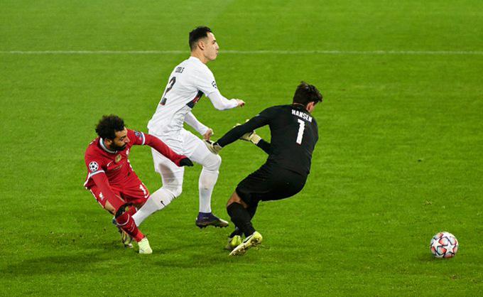 Salah nổ súng ngay giây thứ 55 của trận đấu