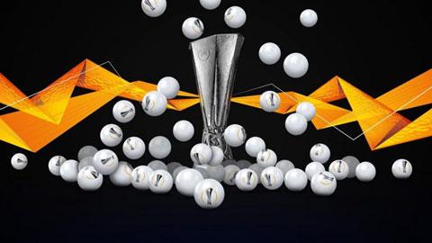 Khi nào bốc thăm vòng 1/16 Europa League 2021/21?