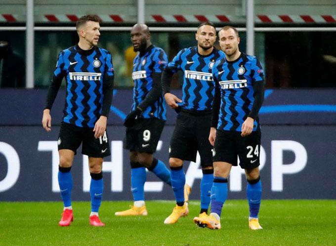 Inter gây thất vọng nặng nề khi đứng bét bảng