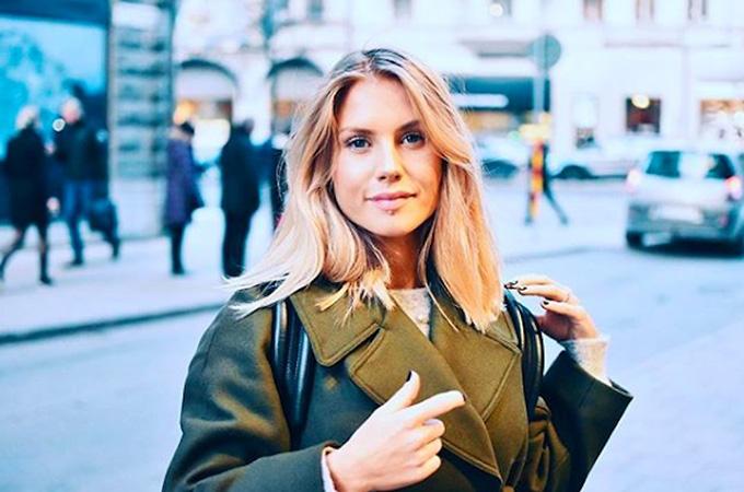 Maja Nilsson - hôn thê trung vệ Victor Lindelof