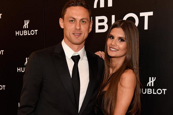 Nemanja Matic & vợ Aleksandra Pavic