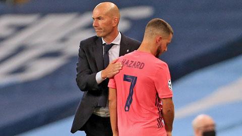 Zidane vẫn đang phải cùng các học trò từng bước vượt khó
